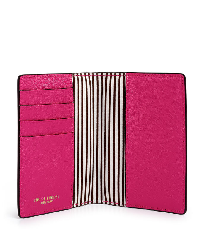 West 57th Tassel Passport Cover