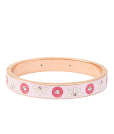 Petite Floral Rivet Bangle