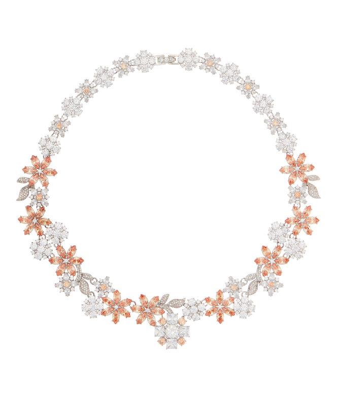 Henri Bendel Debutante Floral Collar