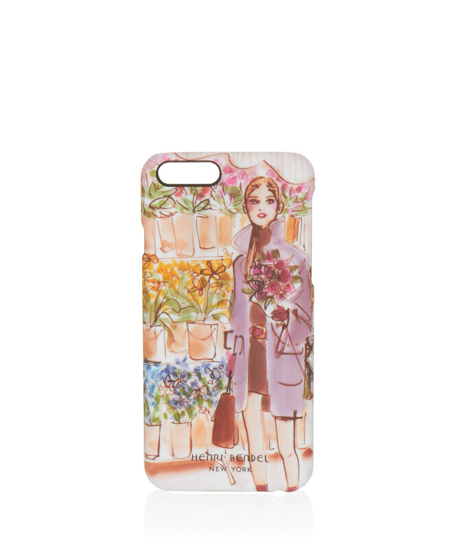 Girl With Flowers Graphic Case for iPhone 6/6s