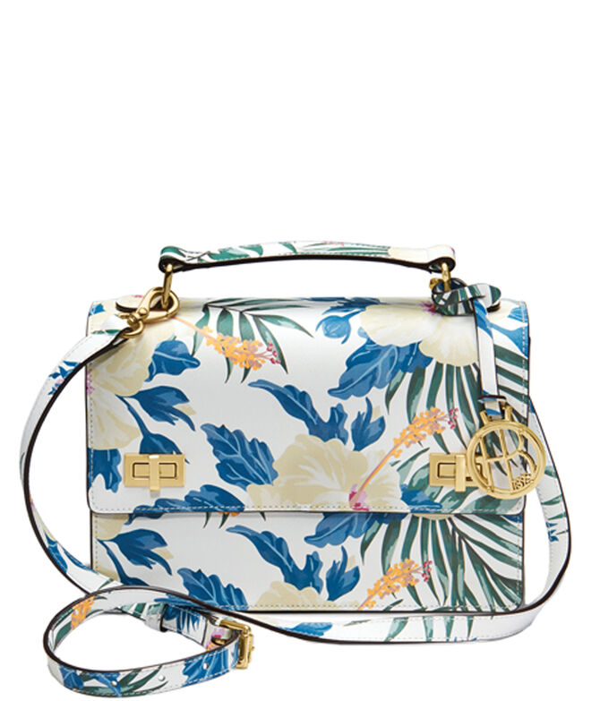 West 57th Floral Print Schoolbag