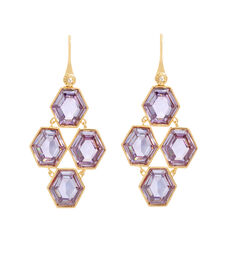 On the Rocks Chandelier Earrings