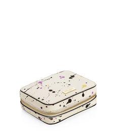 West 57th Splatter Travel Jewelry Case