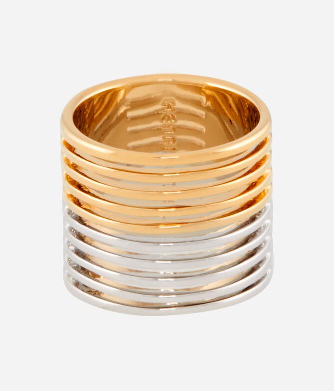 Luxe Modern Asscher Band Ring