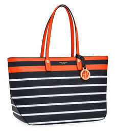 West 57th Stripe E/W Tote