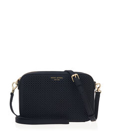 West 57th Perforated Crossbody