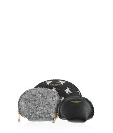 West 57th Exotic Cosmetic Bag Trio