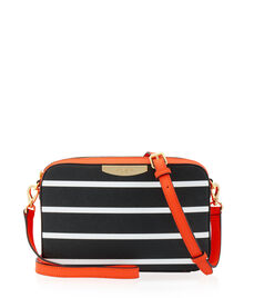West 57th Stripe Crossbody