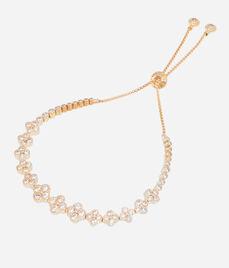 Luxe Petal Delicate Chain Bracelet