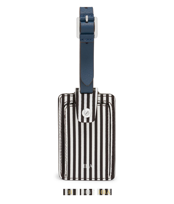 Centennial Stripe Blocked Bag Tag