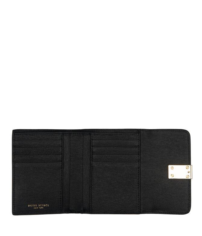 Mini Turn Key Tri-Fold Wallet