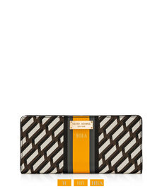 West 57th Sport Graphic Single Snap Wallet