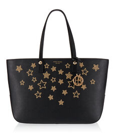 West 57th E/W Star Studded Tote