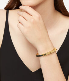Skinny Uptown Leather Bangle
