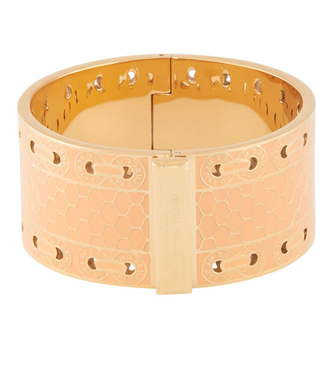 Wide Printed Bangle
