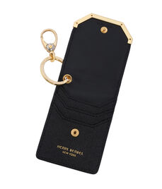 Leather Card Case Key Fob
