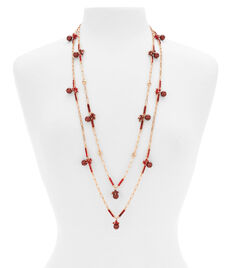 Deco Pearl Layered Necklace