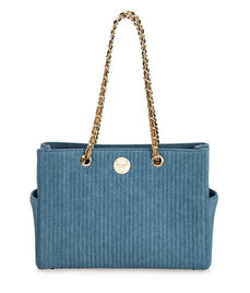 No. 7 E/W Denim Tote