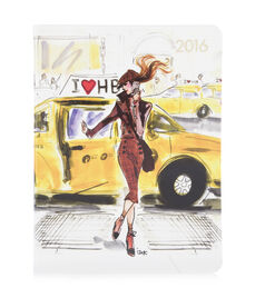 2016 Taxi Girl Desk Diary