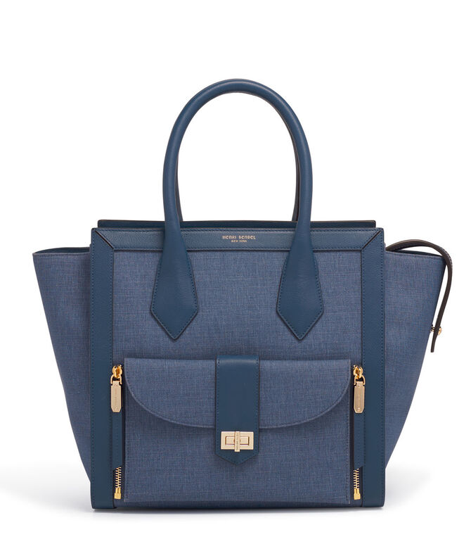 Rivington Convertible Denim Tote