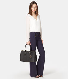 West 57th Croco Carryall