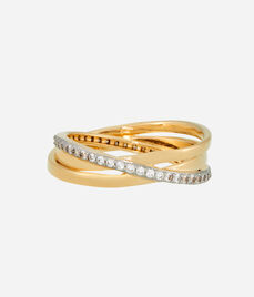 Luxe Pave Orbital Wrap Ring