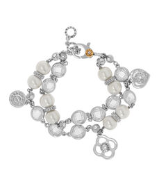 Socialite Layered Pearl Bracelet