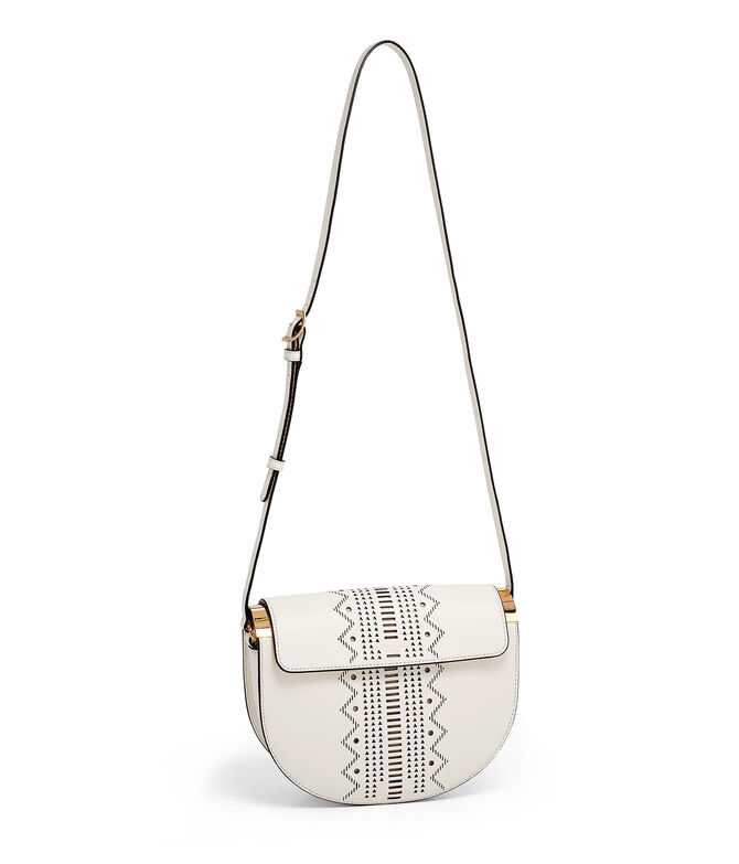 Perforated Half Circle Bag