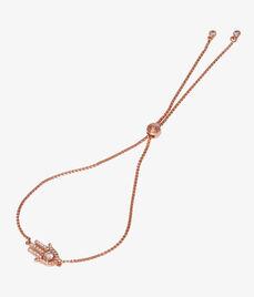 Luxe Hamsa Charm Bracelet
