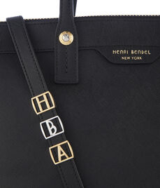 O Initial Bag Charm