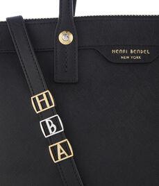 T Initial Bag Charm