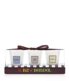 Henri Bendel Fall Candle Trio