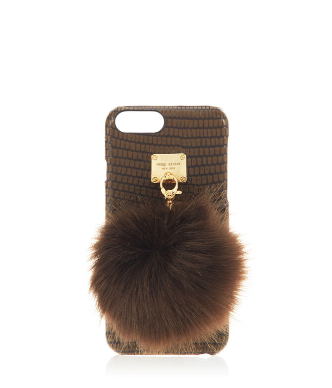 West 57th Lizard Pom Case for iPhone 6/6s