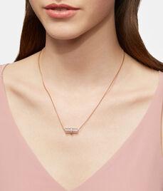 Luxe Semi Short Barrel Necklace