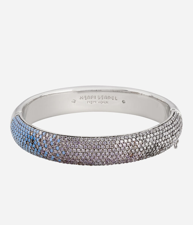 Luxe Pave Ribbon Ombre Bangle
