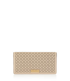 West 57th Perforated Kangaroo Wallet
