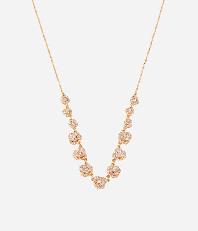 Luxe Rose Bouquet Necklace