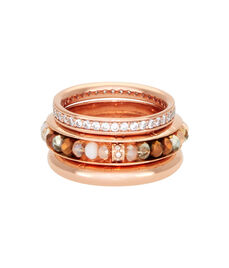 Cote D'Azur Stack Rings