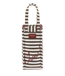 Cheers! Stripe Wine Bag Holder