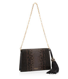 Premium Lizard Tassel Shoulder Bag