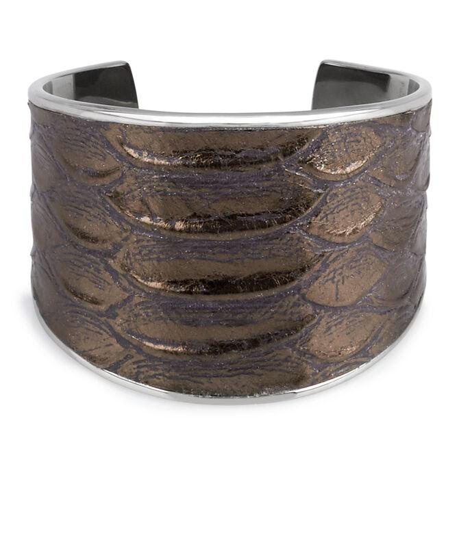 Wide Leather Cuff