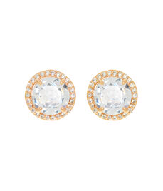 Luxe Pave Halo Stud