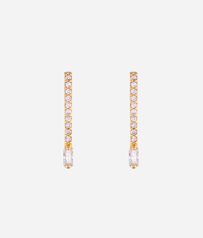 Luxe Matchstick Stud Earring