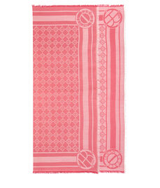 Two Tone Monogram Pashmina