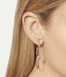 Luxe Diamond Slice Hoop