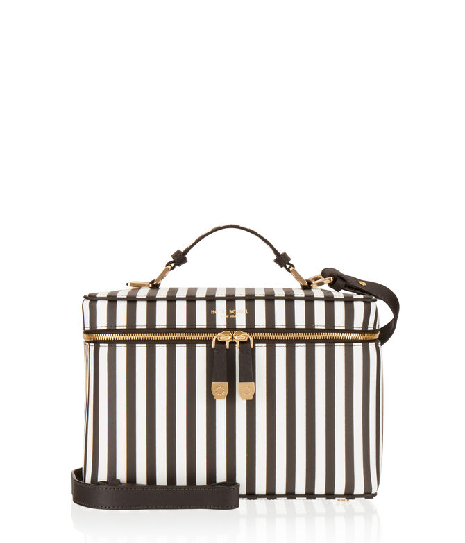 West 57th Centennial Stripe Train Case