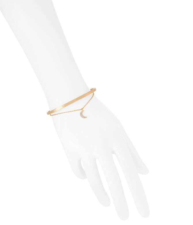 Luxe Chic Moon Duo Cuff