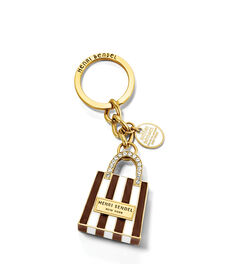 Shopping Bag Key Fob
