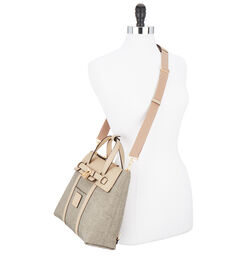 Jetsetter Mini Convertible Canvas Backpack