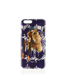 Graphic Fur Coat Girl Case for iPhone 6/6s